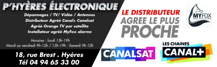 Canal Canal Plus Canalsat Hyeres